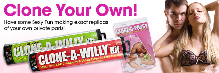 Clone Your Own Dirt! Have some dirty fun making exact replicas of your own private parts!